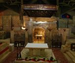 Nazareth: Grotto (home of Mary) in Basilica of the Annunciation